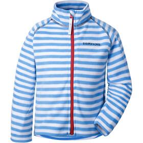 Didriksons 1913 Monte Printed Jacket Kids malibu blue simple stripe